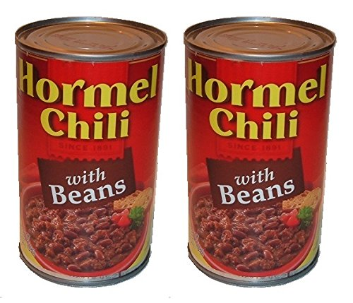 2 Pack - Hormel Chili diversion Can Safe stash hide cash jewelry BANK by THE CAN KING