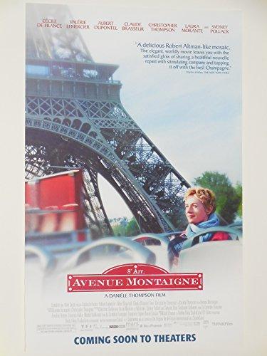 Avenue Montaigne 11x17 Inch Promo Movie Poster