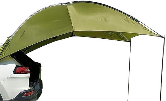 Exuberanter Heckzelt Auto Sonnensegel Für Wohnwagen Suv Mpv Wohnmobil Markise Wasserfest Vordach Auto Vorzelt 280x190cm Auto