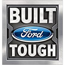 Ford BUILT TOUGH 12 x 12 inch Metal Decor Sign
