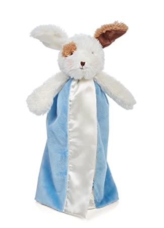 Bunnies by the Bay Bye Bye Buddy Blanket White