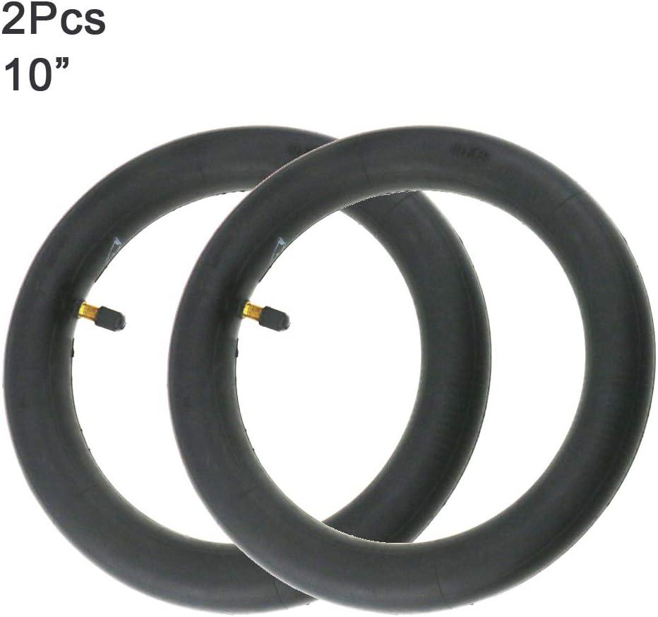 Flycoo2 - Cámara de Aire de 10 Pulgadas, 10 x 2 Pulgadas para Xiaomi M365 Patinete eléctrico modificación Compatible con neumáticos de 10 Pulgadas