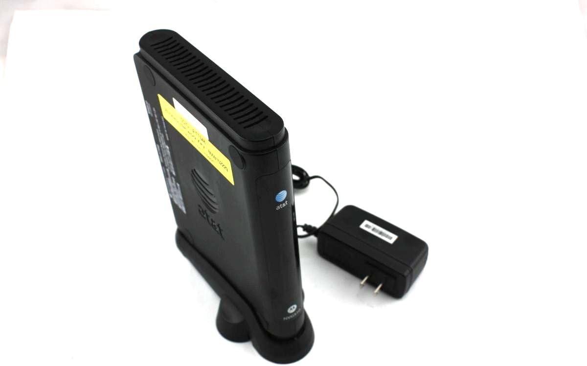 Amazon Com Motorola Nvg510 Modem For At T U Verse Dsl Computers Accessories