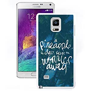 A Pinneapple A Day (2) Durable High Quality Samsung Note 4 Case