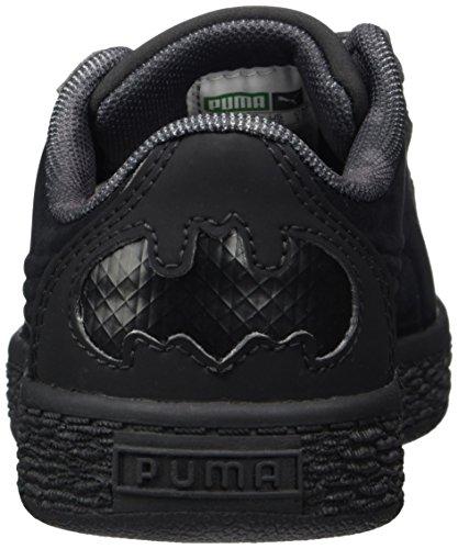 Puma JL Batman Basket V PS, Zapatillas Unisex Niños Negro (Black-black)