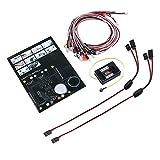 #5: LiNKFOR 12 LED Flashing Head Light Kit LED Light System for 1:10 RC Model Car Truck