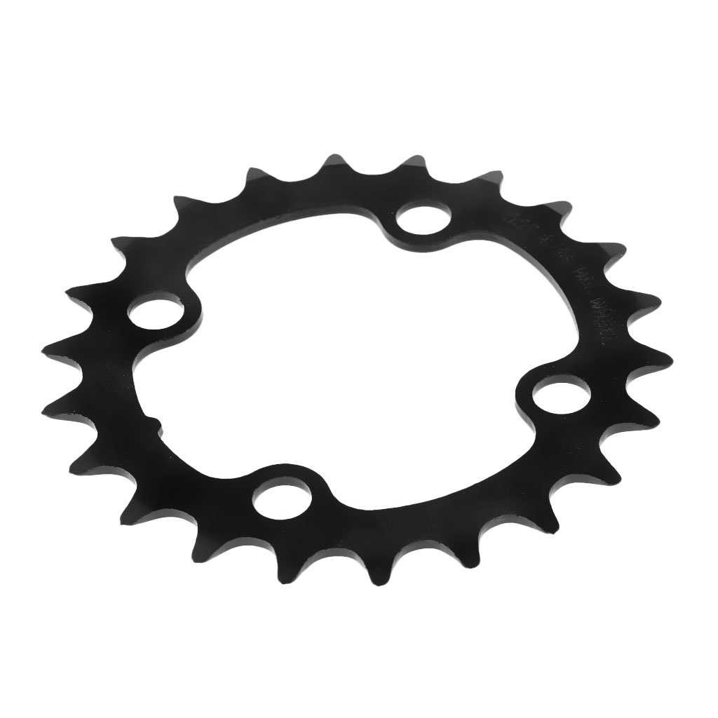 dolity MTBマウンテンバイクフロント単一チェーンリングChainring BCD 104 mm 44 / 42 / 32 / 22t B079PVCNT5 42T