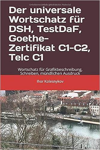 Der Universale Wortschatz Für Dsh Testdaf Goethe Telc C1