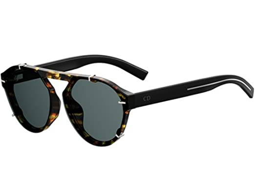 Amazon.com: Dior Black TIE 254S Havana/Black 62/15/150 ...