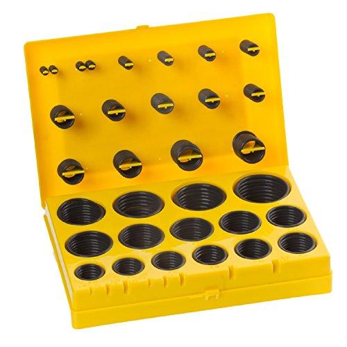 Buna-N O-Ring Kit, 90A Durometer, 30 Sizes (Pack of 382)