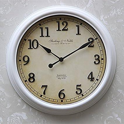 Amazon com: Retro Western style bedroom American wall clock