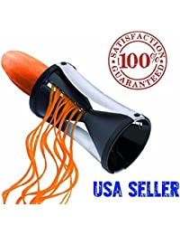 Purchase #1 Veggie Spiralizer Zucchini Noodle Vegetable Zoodle Cutter Vegetti Julienne deliver