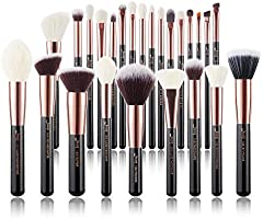 Jessup Brand 25pcs Professional Makeup Brush set Beauty Cosmetic Foundation Power Blushes eyelashes Lipstick...