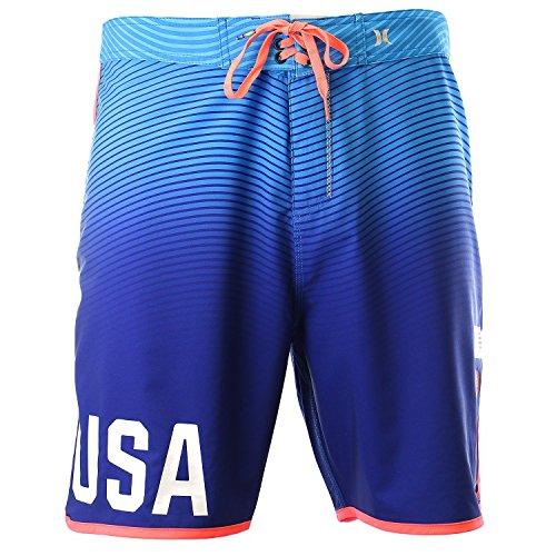 Hurley Men's USA Olympic Team Swimwear - Board Short, 36 , ()