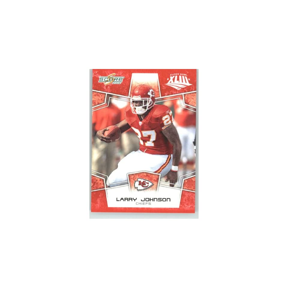 Johnson   Kansas City Chiefs   NFL Trading Card in a Prorective Screw
