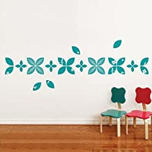 Baby Leaves Wall Decal Teal