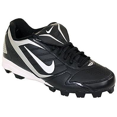 Men\u0027s Nike Keystone Low 375760 011 Black White Baseball Cleat