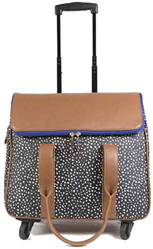 hang-accessories-360-wheel-camellia-tote-brown-with-dots
