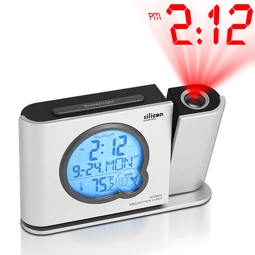 atomic projection clock amazon ca electronics rh amazon ca silicon scientific atomic projection clock instructions