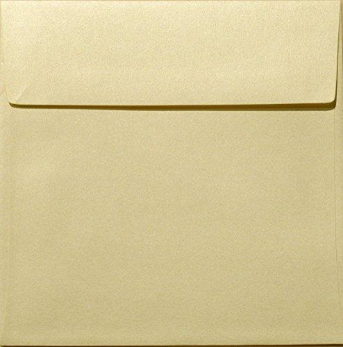 6 1 Square Envelopes 6 5 x 6 5 Metallic