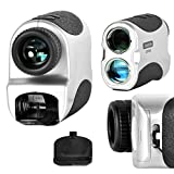 Premium-Golf-Rangefinder-By-SereneLife-Digital-Golf-Distance-Meter-Adjustable-Manual-Lens-Focus-Compact-Handheld-Design-Pin-Seeking-Distance-Measuring-Detection-Modes-Includes-Travel-Case