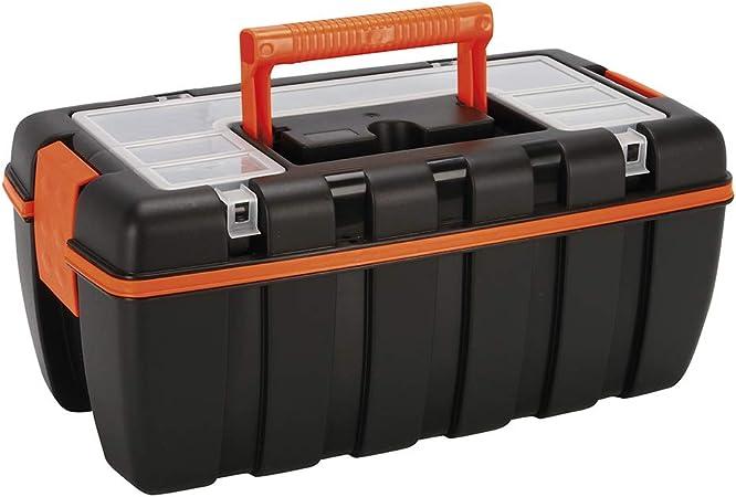 Cogex 72090 - Caja de herramientas (plástico, 410 x 220 x 180 mm ...