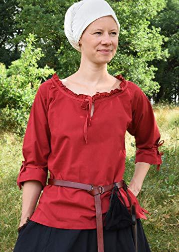 Battle 3 Merchant 4 Chemisier Femme Rouge Manches 66Uvrnq