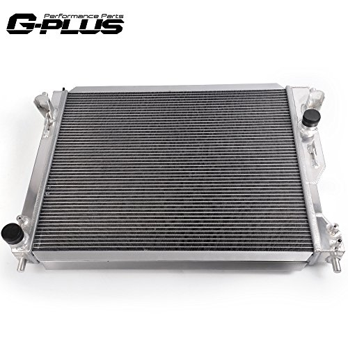2 Row Aluminum Racing Radiator Stop Leak For 2005-2014 FORD MUSTANG GT/SHELBY MT/MANUAL 4.0L-5.4L