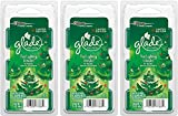 Glade Wax Melts Air Freshener - Limited Edition - Winter Collection 2017 - Tree Lighting Wonder - 6 Count Wax Melts Per Package - Pack of 3 Packages