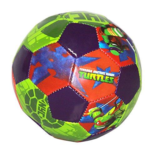 Hedstrom Teenage Mutant Ninja Turtles #3 Jr. Soccer Ball, 53-63824AZ (Ninja Turtles Toy)