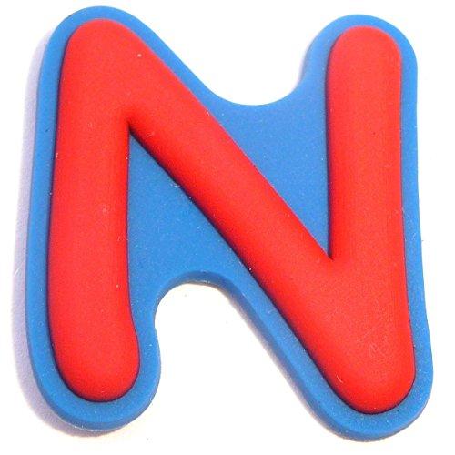 Letter N Shoe Rubber Charm Jibbitz Croc Style