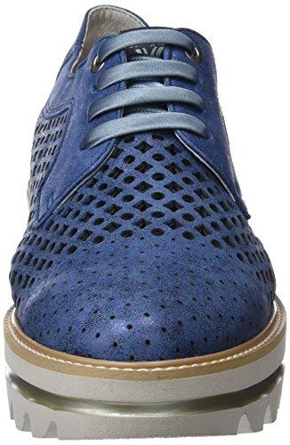 Cordones Zapatos Party Callaghan Derby Line de Navy para Azul 2 Mujer n446yqIr