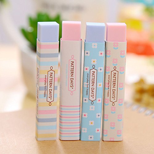 2 Pcs Fashion Korean Style Students Eraser Rubber Stationery Kid Gift Toy Cute (Names Of Monster High Characters)