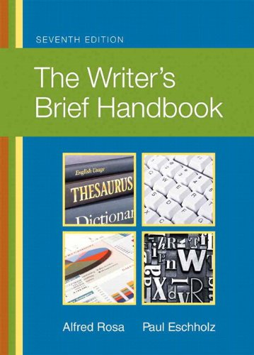 Writer's Brief Handbook, The, Plus MyLab Writing -- Access Card Package (7th Edition)