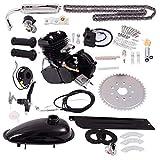 Goplus Bicycle Motor Kit 80cc 2-Stroke Bike Gasoline Motorized Gas Engine Bike Motor