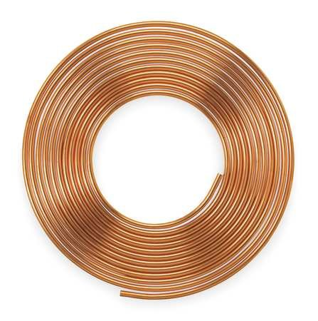 1-1/8'' OD x 60 ft. Coil Copper Tubing Type K
