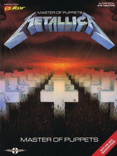 Master Of Puppets Metallica G/V With Tablature