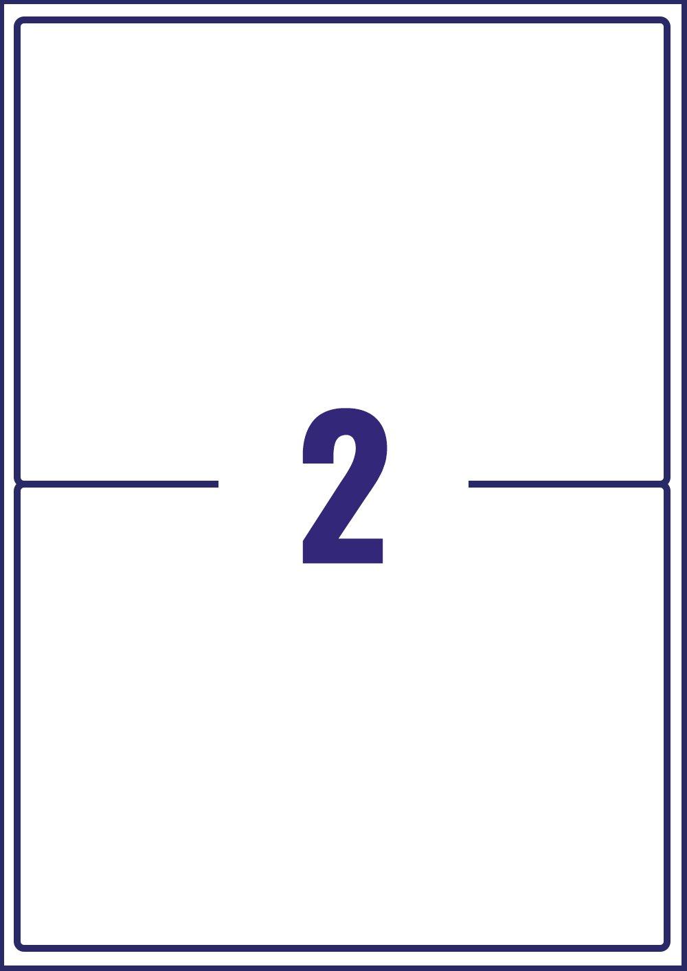 AVERY Zweckform schnelltrocknende Adressetiketten f/ür Tintenstrahldrucker 14 pro Blatt 99,1 x 38,1 mm 350 Etiketten wei/ß