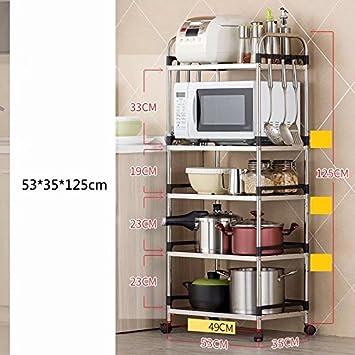 MAIKA HOME Boden Küche liefert Lagerung Regale/Lagerregal ...