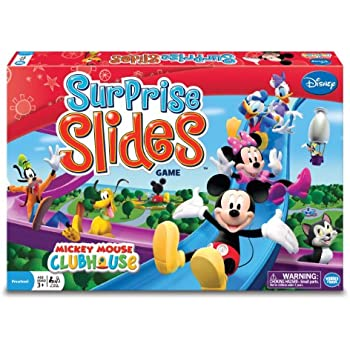 Mickey's Clubhouse Surprise Slides Board Game