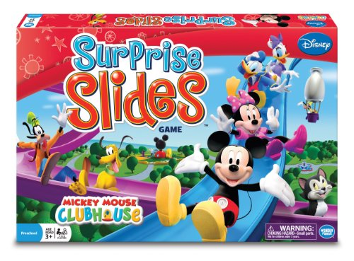Surprise Clubhouse - Wonder Forge Mickey's Clubhouse Surprise Slides Board Game