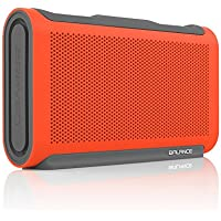 BRAVEN BALANCE Portable Wireless Bluetooth Speaker [18 Hour Playtime][Waterproof] Built-In 4000 mAh Power Bank - Retail Packaging - Orange