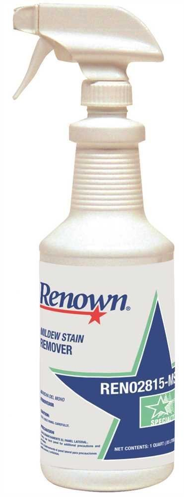 Renown REN02815-MS Mildew Stain Remover, 1 Quart by Renown
