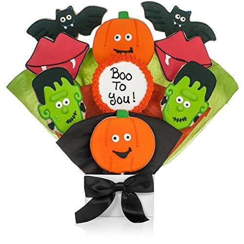Pumpkin Patch Halloween Cookies