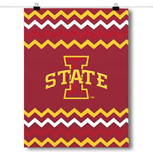 Inspired Posters Iowa State Cyclones - Chevron Poster
