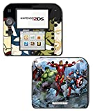 Captain America Comic Thor Hulk Iron-Man Hawkeye Video Game Vinyl Decal Skin Sticker Cover for Nintendo 2DS System Console