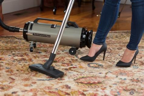 Metrovac ADM4SNBF Professional Evolution 2-Speed Full-Size Canister Vacuum
