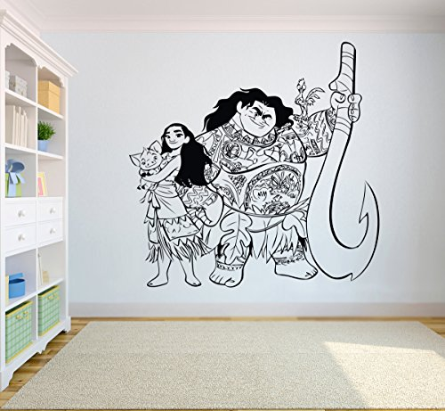 Disney Moana and Crew Wall Decal