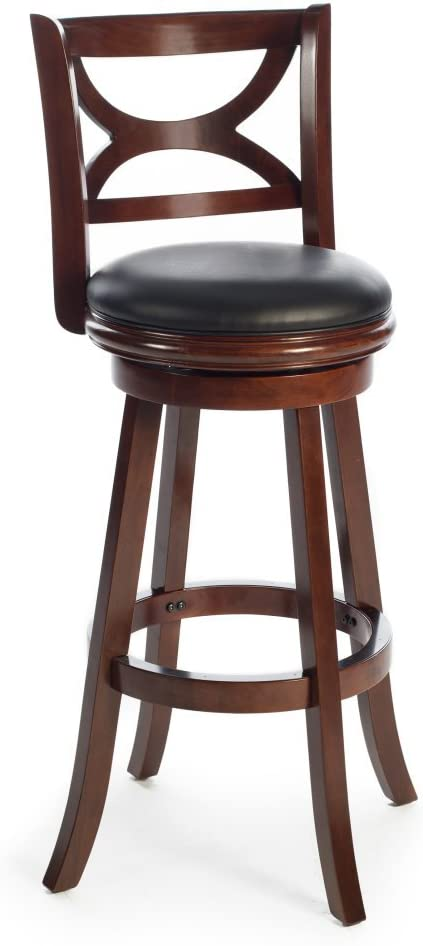 Boraam Florence 34 in. Extra Tall Swivel Bar Stool