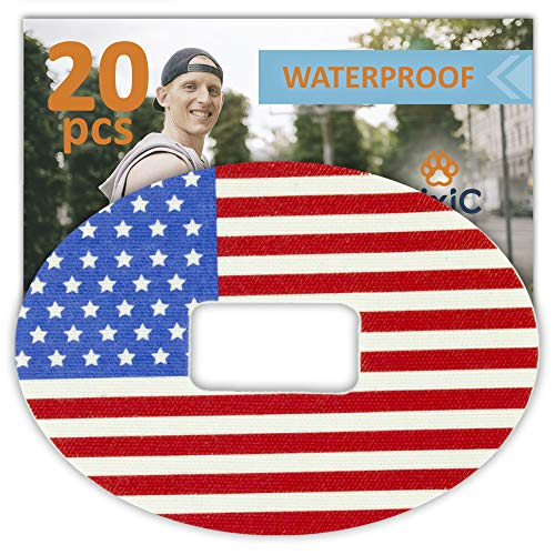 Fixic - Adhesive Patches G5 - 20 Pack Premium Waterproof Adhesive Patches - Pre Cut Back Paper - Adhesive Patch G5 - Best Long Fixation
